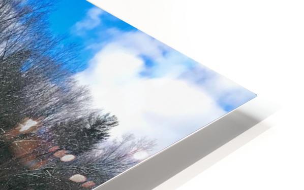 SimsburyFalls HD Sublimation Metal print