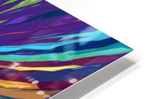 Abstract Composition 731 HD Sublimation Metal print
