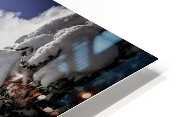 Kootenay Alpine Snow HD Sublimation Metal print
