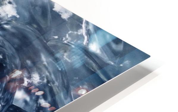 Glacier ICE formation  HD Sublimation Metal print