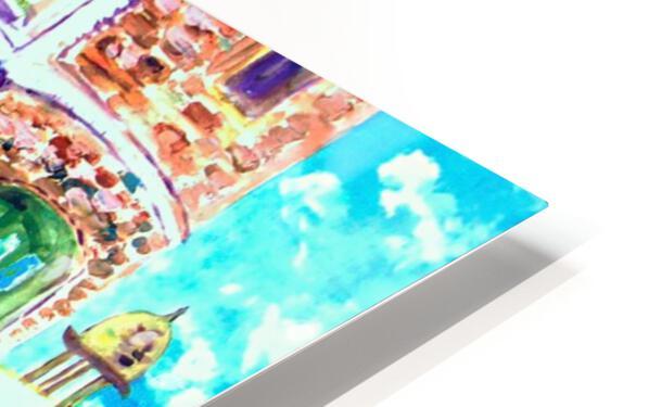 Piggy Bread HD Sublimation Metal print