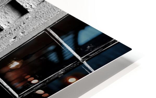 Shutter and Panes HD Sublimation Metal print