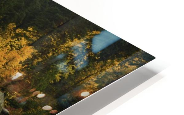 Flow of life HD Sublimation Metal print