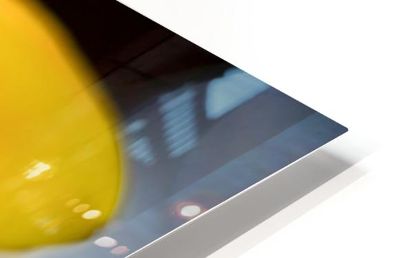 Jaune 3 HD Sublimation Metal print