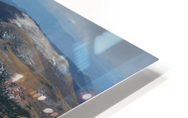 Pikes Peak Colorado  HD Sublimation Metal print