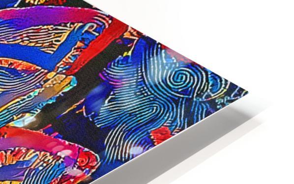 Succulent Jamboree HD Sublimation Metal print