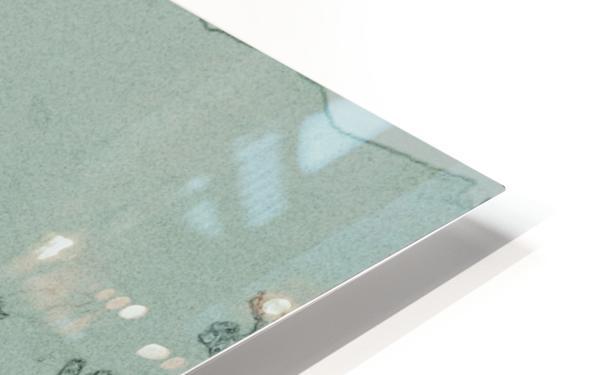 Couple HD Sublimation Metal print