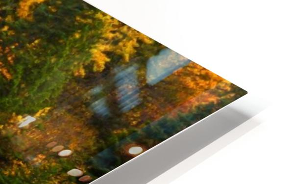 Emerald Flow Pano HD Sublimation Metal print