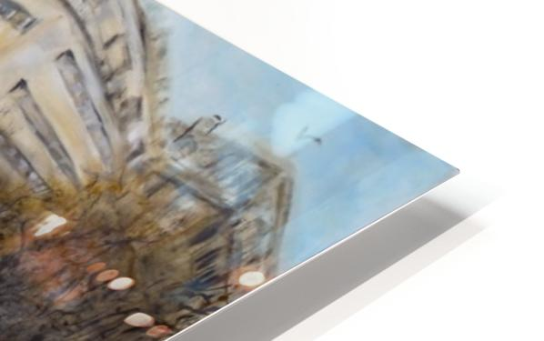 Buildings_High_Res HD Sublimation Metal print