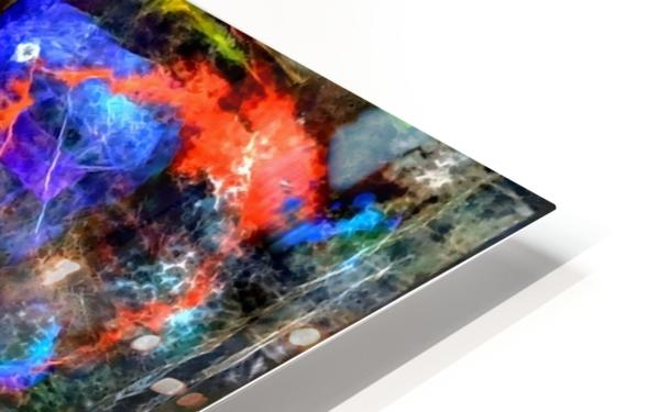 Modern Trendy Abstract Art HD Sublimation Metal print