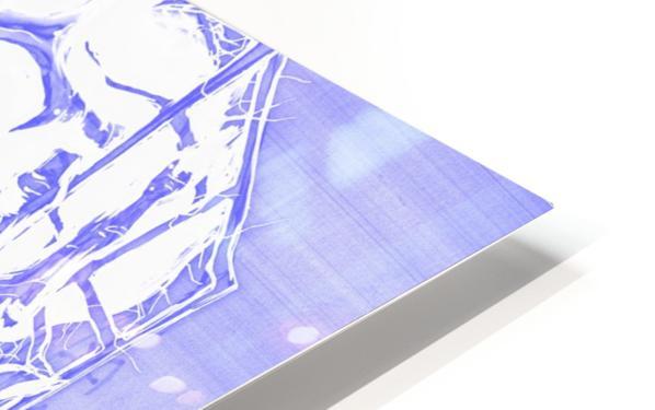 Jacle blue print HD Sublimation Metal print