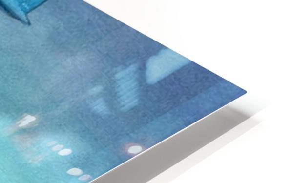 Help HD Sublimation Metal print