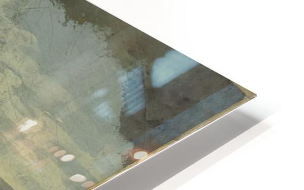 Autoportrait dit Courbet au chien noir Impression de sublimation métal HD