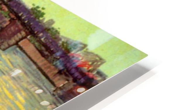 Bridge by Van Gogh HD Sublimation Metal print
