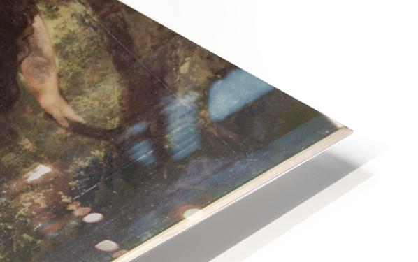 Trois baigneuses HD Sublimation Metal print