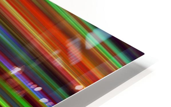 Colorful Lines HD Sublimation Metal print