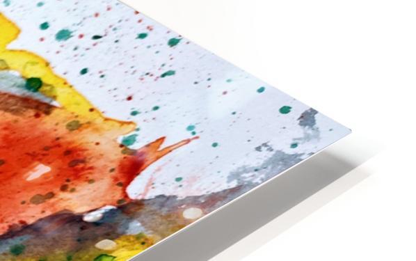 Clarinet watercolor HD Sublimation Metal print