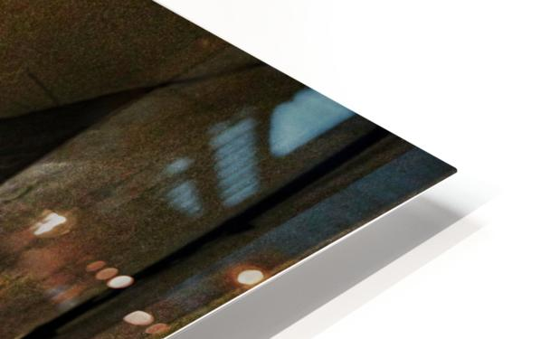 Alley light HD Sublimation Metal print