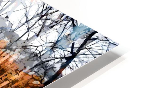 Les saisons HD Sublimation Metal print