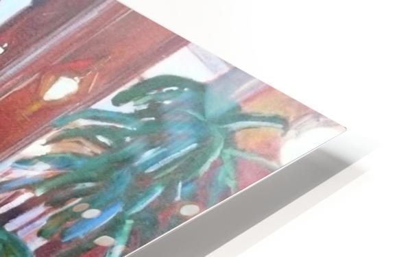 Bengal Lounge HD Sublimation Metal print