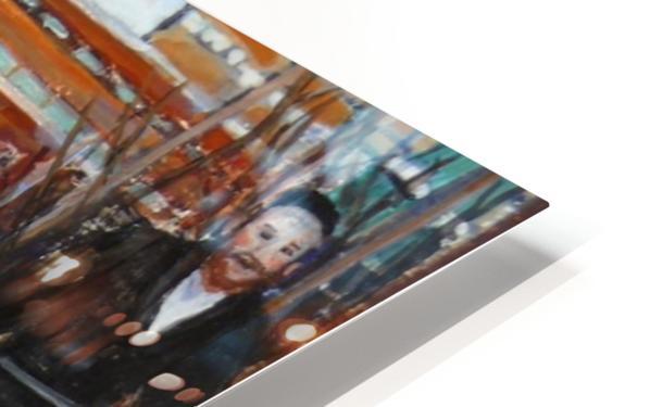 Safe Passage HD Sublimation Metal print