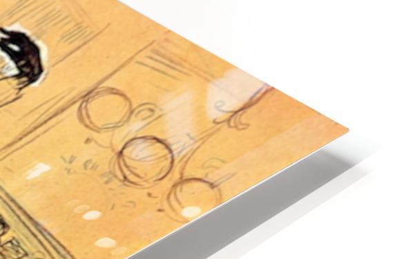 Chocolat dance by Toulouse-Lautrec HD Sublimation Metal print