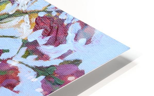 Flowers in a Mason Jar HD Sublimation Metal print