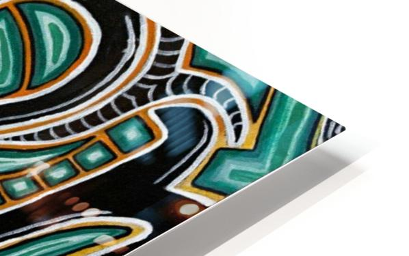 Synergy Triptych Right panel HD Sublimation Metal print