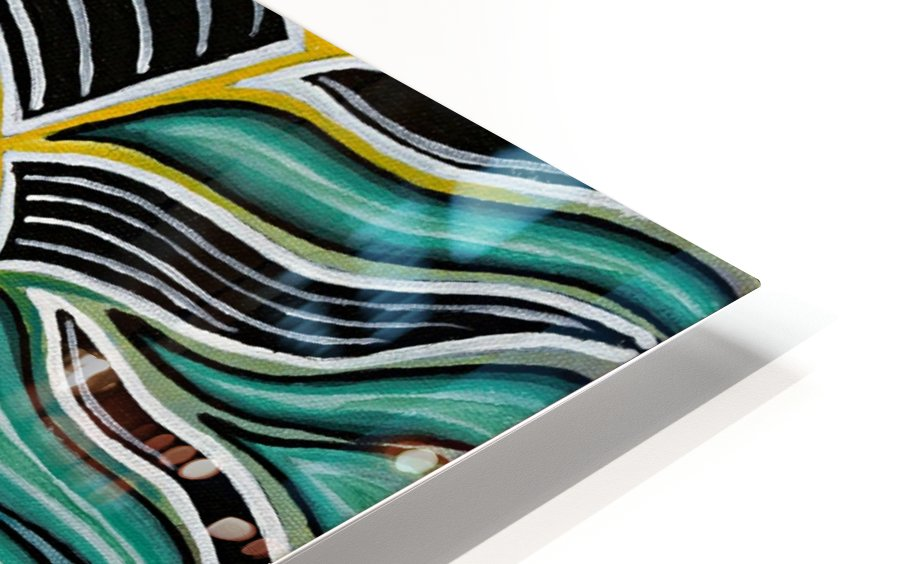 Synergy Triptych Centre panel HD Sublimation Metal print