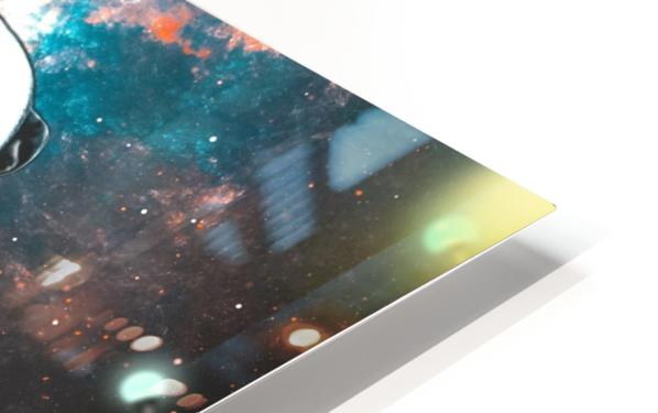 cosmos background space dog HD Sublimation Metal print