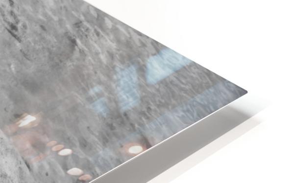 Crystal Clear B&W HD Sublimation Metal print