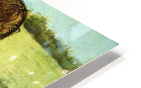Cutting Grass by Van Gogh HD Sublimation Metal print