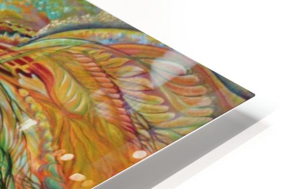 Feathers of the Phoenix HD Sublimation Metal print