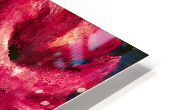 Me Too Fleurs HD Sublimation Metal print