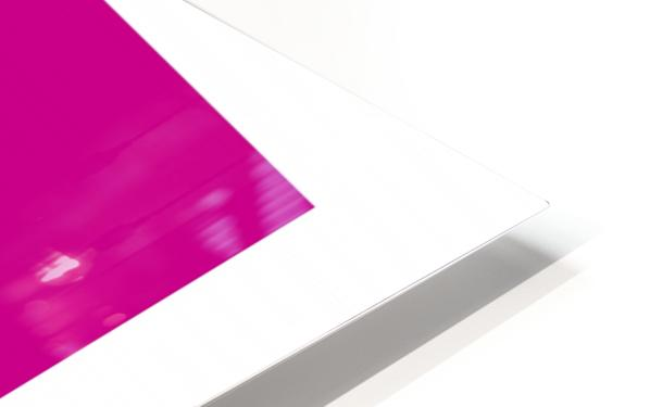 Solid Magenta Process color HD Sublimation Metal print
