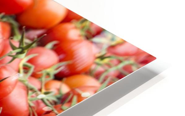 Tomatoes for sale open air market HD Sublimation Metal print