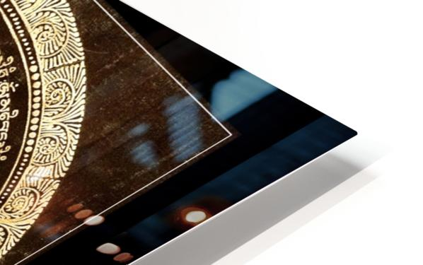 Nepali Goldwork: Serenity HD Sublimation Metal print