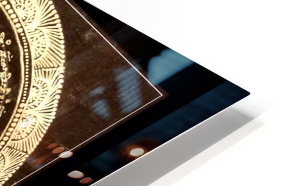 Nepali Goldwork: Tranquility HD Sublimation Metal print