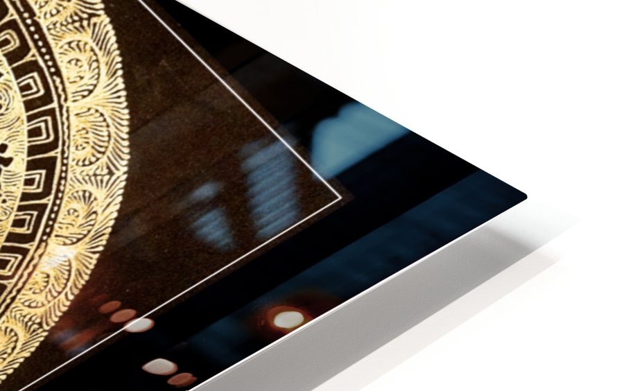 Nepali Goldwork: Peace HD Sublimation Metal print