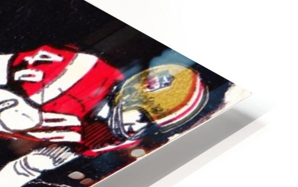 1969_National Football League_Pro Bowl_Los Angeles Coliseum_Row One HD Sublimation Metal print