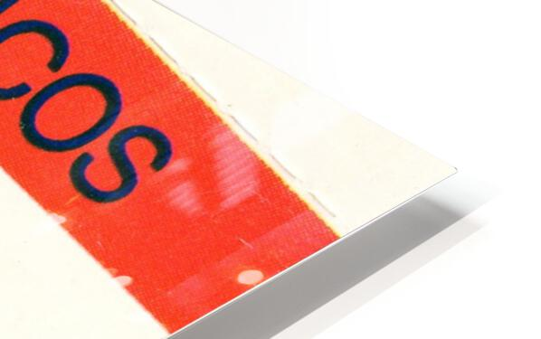 1983 Denver Broncos Football Ticket Stub  HD Sublimation Metal print