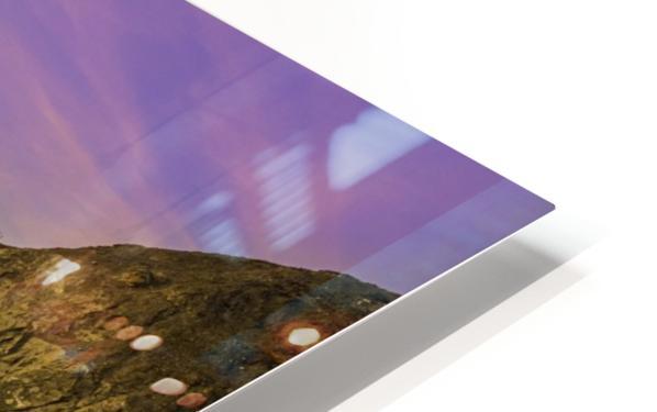 Golden Gate Sunset HD Sublimation Metal print