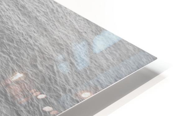 Open Waters B&W HD Sublimation Metal print