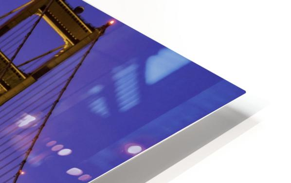 Golden Gate Blue Hour HD Sublimation Metal print