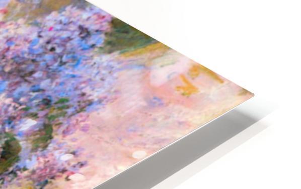 Flowers in the window by Cassatt HD Sublimation Metal print