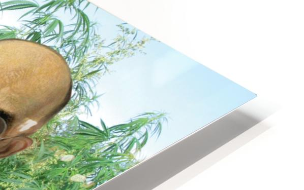 Modern Day Farmers HD Sublimation Metal print