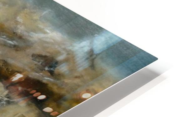 Shelter from the Blizzard HD Sublimation Metal print