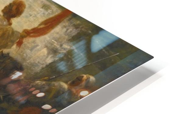 Der Fahnentrager HD Sublimation Metal print