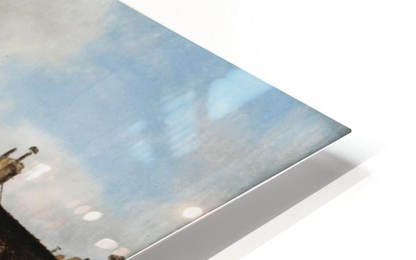 Market view HD Sublimation Metal print