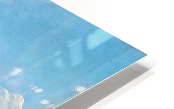Lake Como HD Sublimation Metal print